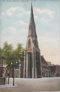 New York Syracuse St Pauls Church
