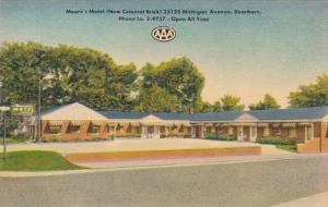 Michigan Dearborn Moore's Motel