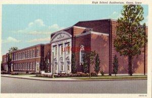 HIGH SCHOOL AUDITORIUM. AMES, IA