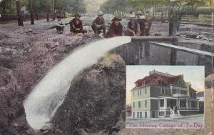 Jumbo Artesian wells of 1886 and The Herring Cottage of to-Day,Belle Plain, IA