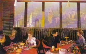 Illinois Chicago Stouffer's Top Of The Rock Restaurant Prudential Building