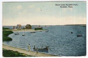Hyannis, Mass, Shore scene Hyannis Park