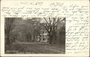 Saxtons River VT Main St. c1905 Postcard