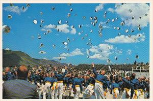 Jubilant Cedets At Graduation U S Air Force Academy Colorado Springs Colorado