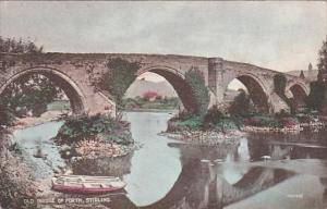 Boat, Old Bridge Of Forth, STIRLING, Scotland, UK, 1900-1910s