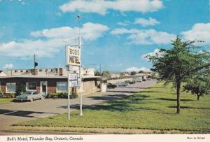 Exterior,  Bob's Motel,  Thunder Bay,  Ontario,  Canada,  50-70s
