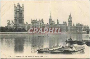 Postcard Old London The Houses of Parliament