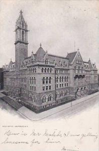 New York Buffalo Post Office 1905