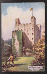 Rochester Castle, Kent, England - Unused - Corner Wear