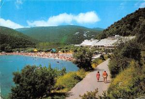 Croatia Rabac resort coast plage strand beach 1982