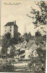 CPA Indre - LA CHATRE vue prise pres 'Abattoin (173239)