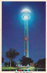 Texas San Antonio The Tower Of The Americas