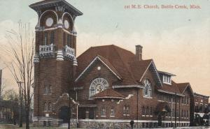 BATTLE CREEK, Michigan, PU-1911; M.E. Church