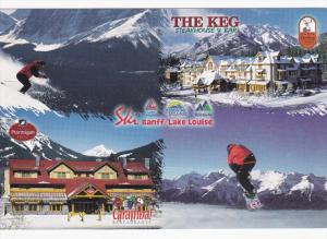 THE KEG Steakhouse & Bar & Caramba! Restaurant , BANFF , Alberta , Canada , 6...