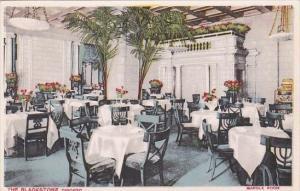 Marble Room Restaurant Interior The Blackstone Chicago Illinois