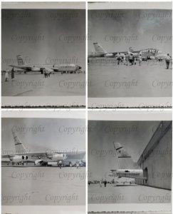 1960 Snapshots Military Airshow Bombers Hanger D20001