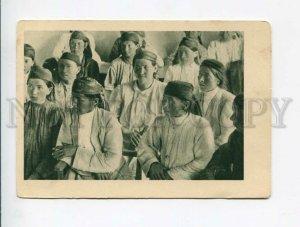 3047049 Tadjikistan Hejent silk combine workers Old
