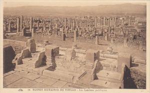 Algeria Ruines Romaines de Timgad Les Latrines publiques