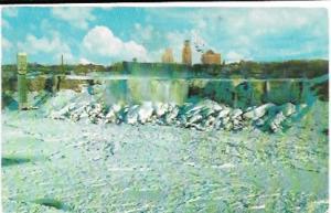 Canada.  Niagara Falls in the Winter 1962