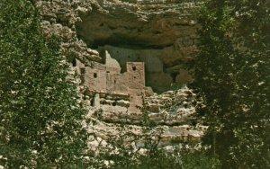 Verde Valley, Arizona, AZ, Montezuma Castle, Vintage Postcard g5730