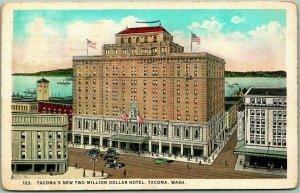 1924 Tacoma, Washington Postcard Tacoma's New 2 Million Dollar Hotel Winthrop