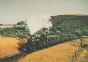 Southern Steam Trust No 4 Drummond M7 0 4 4T Number 30111 Train Postcard