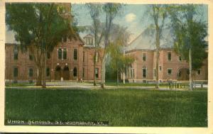 Union Schools - Saint Johnsbury VT, Vermont - pm 1915 - DB