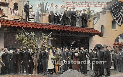 Glenwood Hotel, Riverside, Cal USA 1908