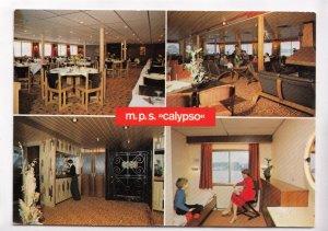 m. p. s. calypso, unused Postcard