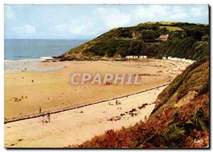 Postcard Modern Carteret The Jewel of The Cotentin Placge and Cape