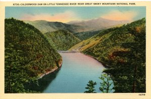 Great Smoky Mountains Nat'l Park - Calderwood Dam, Little Tennessee River