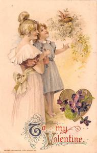 Publisher John Winsch, 1911 Artist Samuel Schmucker 1913 big indentation in c...