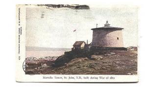 Martello Tower, 1905, St John, New Brunswick, MacFarlane