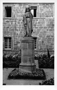 France Mont Ste Odile Statue Church Kirche