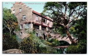 Early 1900s Welterredden on a Berkeley Hillside, CA Postcard