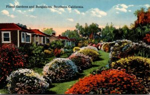 California Floral Gardens and Bungalows In Southern California