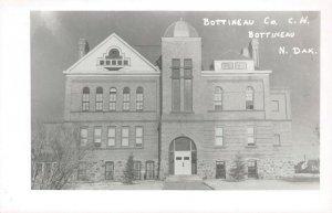 LPSS35 Bottineau North Dakota Bottineau County Court House Postcard RPPC