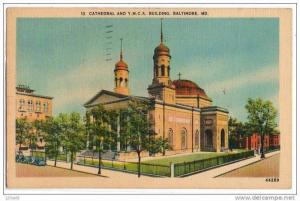 Cathedral & YMCA Building, Baltimore, Maryland, PU-1948