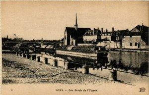 CPA Sens - Les Bords de l'Yonne FRANCE (960896)