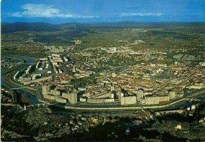France En Gevennes Ales Vue d'Avion Air view Panorama Postcard