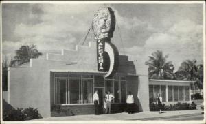 West Palm Beach FL Lyon Cafeteria Broadway at 50th Postcard