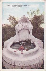 Colorado Denver Childerns Fountain City Park