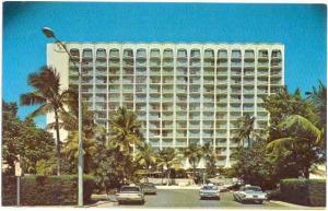 Americana Hotel, San Juan, Puerto Rico, U.S.A..  Chrome