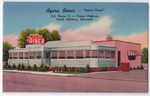 Ayers Diner, North Salisbury MD