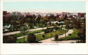 Tacoma WA Wright Park c1906 EP Charlton Postcard G21