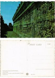 CPM Relief pada lorong Candi Borobudur, Jawa Tengah INDONESIA (730179)