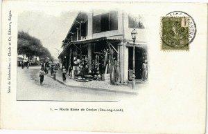 VIETNAM INDOCHINE - Route Basse de Cholon (190218)
