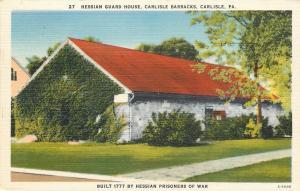 Carlisle Barracks PA~Hessian POW Guard House~American Revolutiony War~1940s