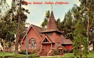 California Vallejo Mare Island St Peter's Chapel