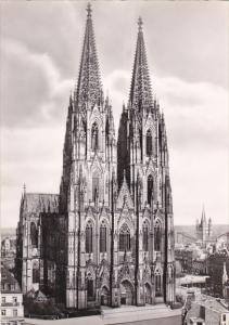 Germany Koeln Dom Von Westen